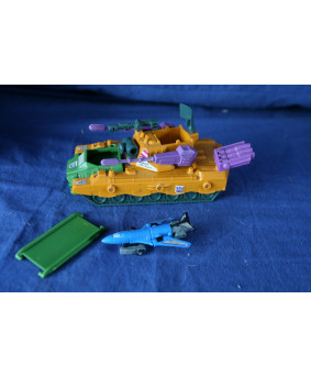 G1 Micromaster Anti-Aircraft Base - compleet