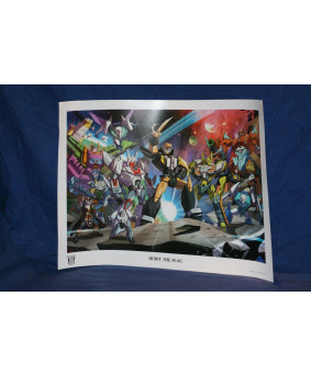 BOTCON 2014 Litho The Pirates of Botcon